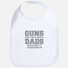 guns-dont-kill-people-fresh-gray Bib