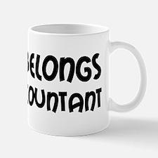 Heart Accountant Mug