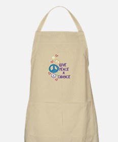 GIVE PEACE A CHANCE Apron