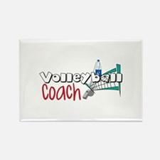 Volleyball Coach Magnets