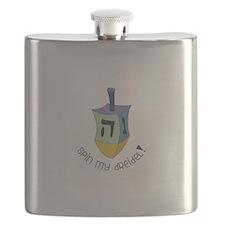 Spin My Dreidel! Flask