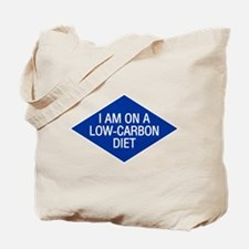 Low Carbon Diet Tote Bag