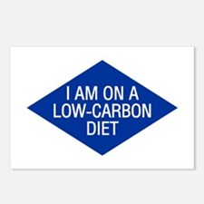 Low Carbon Diet Postcards (Package of 8)