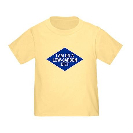 Low Carbon Diet Toddler T-Shirt