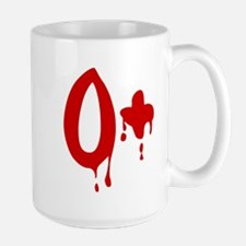 Blood Type O+ Positive Mugs
