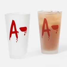 Blood Type A- Negative Drinking Glass