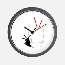 Take Out Container Wall Clock