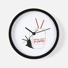 Csow Fun Yummy Wall Clock