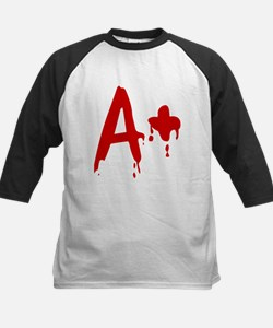 Blood Type A+ Positive Baseball Jersey