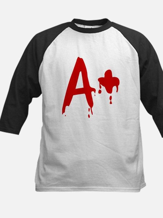 Blood Type A+ Positive Baseball Jersey