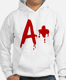 Blood Type A+ Positive Jumper Hoody