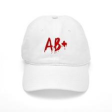 Blood Type AB+ Positive Baseball Cap