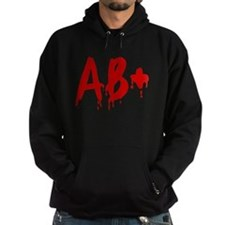 Blood Type AB+ Positive Hoody