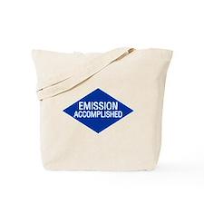 Emission Accomplished Tote Bag