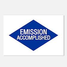 Emission Accomplished Postcards (Package of 8)