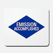 Emission Accomplished Mousepad