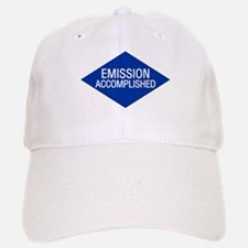 Emission Accomplished Baseball Baseball Cap