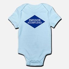 Emission Accomplished Infant Bodysuit