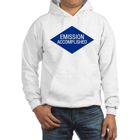 Emission Accomplished Hooded Sweatshirt