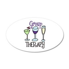 Group Therapy Wall Decal