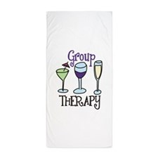 Group Therapy Beach Towel