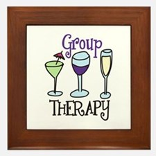 Group Therapy Framed Tile