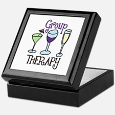 Group Therapy Keepsake Box