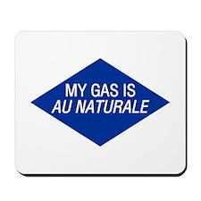 Au Naturale Gas Mousepad
