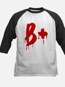 Blood Type B+ Positive Baseball Jersey