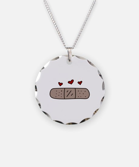 Band Aid Necklace