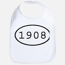 1908 Oval Bib