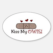 Kiss My Owie Decal