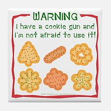 Christmas Cookies Tile Coaster