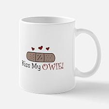 Kiss My Owie Mugs