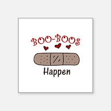 Boo Boos Happen Sticker