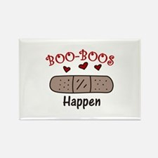 Boo Boos Happen Magnets