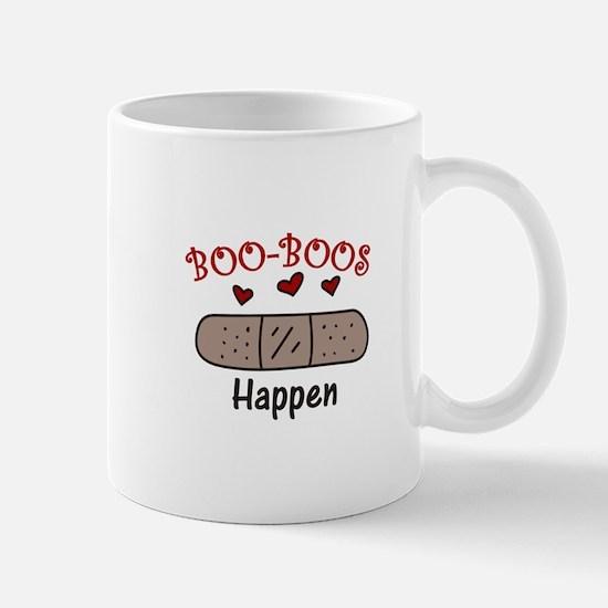 Boo Boos Happen Mugs