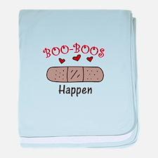 Boo Boos Happen baby blanket