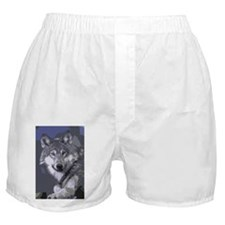Unique Grey wolf Boxer Shorts