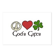 Gods Gifts Postcards (Package of 8)