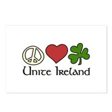 Unice Ireland Postcards (Package of 8)