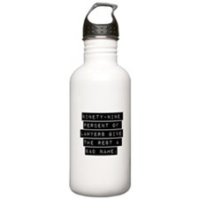 Ninety-Nine Percent Of Lawyers Water Bottle