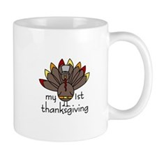 My 1st thanksgiving Mugs