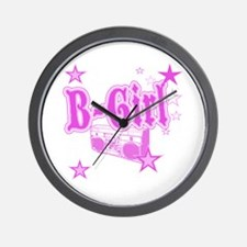 B-Girl Wall Clock