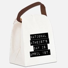 National Atheists Day Canvas Lunch Bag