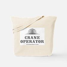 Tower Crane Tote Bag