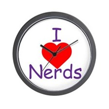 Cute Geek gamer Wall Clock