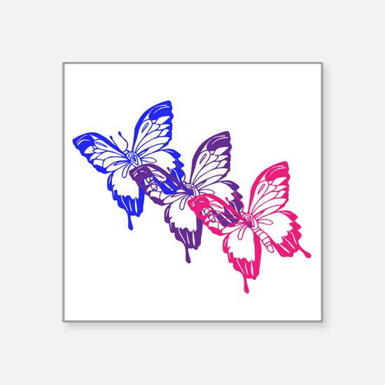 Bisexual Butterfly Sticker