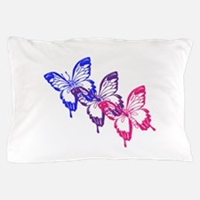 Bisexual Butterfly Pillow Case