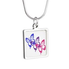Bisexual Butterfly Necklaces